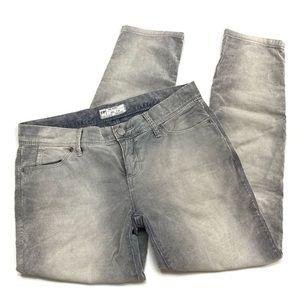 Free People   Gray Faded Pinstripe Skinny Pants